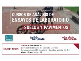 CURSO DE ANÁLISIS DE ENSAYOS DE LABORATORIO - SUELOS Y PAVIMENTOS - Bogotá